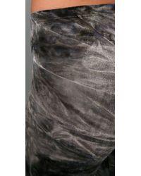 Nightcap | Gray Velvet Tie Dye Leggings | Lyst