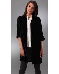 Nili Lotan | Kimono Coat -black | Lyst