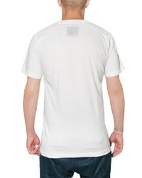 Paura White Toto Printed Jersey T-shirt for men