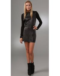 Pencey | Black Leather Dress | Lyst