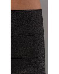 Pleasure Doing Business | Gray Disco 5 Band Miniskirt | Lyst