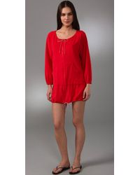 Pret-a-surf | Red Terry Cover Up | Lyst