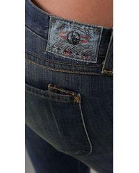 PRPS - Blue Super Skinny Dart Jeans - Lyst