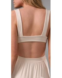 Rachel Pally - Natural Long Cutout Dress - Lyst