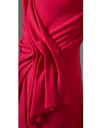 Rachel Roy - Pink Pierce Pleated Wrap Dress with Long Sleeves - Lyst