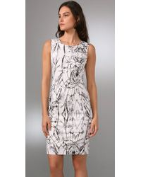 Rachel Roy | Gray Structured Dress | Lyst