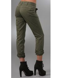 Rag & Bone - Green The Loose Chinos - Lyst