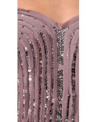 Rebecca Taylor   Pink Sparkle Corset Top   Lyst