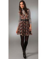 Reformation - Purple Farrah Dress - Lyst