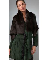 Sachin & Babi | Brown Vivica Fur Vest | Lyst