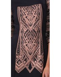 Tibi | Blue Byzantine Embroidery Shift Dress | Lyst