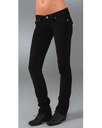 True Religion - Black Billy Straight Leg Corduroy Pants - Lyst