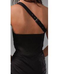 Victorialand - Black Collar Utility Dress - Lyst