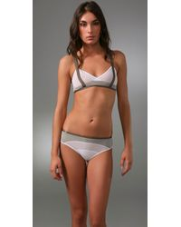 VPL | White Harness Bra | Lyst