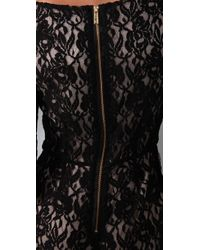Alice By Temperley Black Lace Playsuit