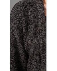 Cheap Monday - Gray Threadbare Cardigan - Lyst