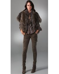 Dolce Vita Brown Sadie Faux Fur Jacket