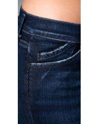 Goldsign - Blue Misfit Legging Jeans - Lyst