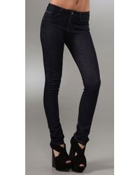 Joe's Jeans | Black High Rise Cigarette Jean | Lyst