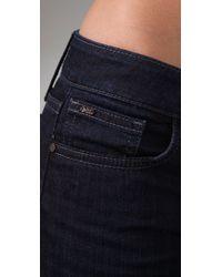 Joe's Jeans - Black Starlet Slim Fit Boot Cut Jeans - Lyst