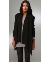 La Fee Verte | Black Cardigan Sweater | Lyst