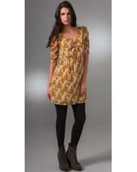 Madewell - Yellow Tea Party Dress - Lyst