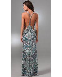 Mara Hoffman | Gray Drape Back Gown | Lyst