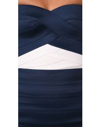 Pleasure Doing Business - Blue Duo Tone Sweetheart Dress - Lyst