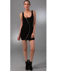 Sheri Bodell | Black Slade Body Con Zipper Dress | Lyst