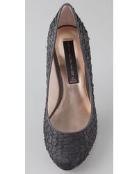 Steven by Steve Madden Black Rampid Pumps