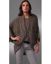 Textile Elizabeth and James | Natural Eleanor Cocoon Sweater | Lyst