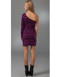 Torn By Ronny Kobo | Purple Olivia Mini Dress | Lyst