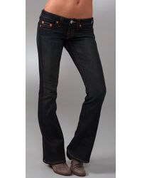 True Religion | Blue Dani Flare Jeans | Lyst