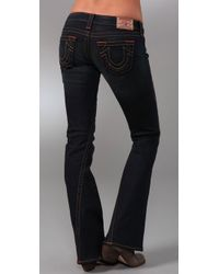 True Religion   Blue Dani Flare Jeans   Lyst