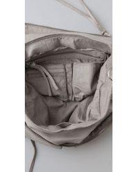 Vanessa Bruno Athé Gray Grande Besace Bag