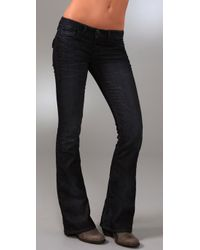 William Rast | Blue Bell Flare Ankle Jeans with Flap Pockets | Lyst