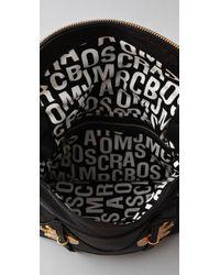 Marc By Marc Jacobs Black Petal To The Metal - Natasha Flap Crossbody Bag
