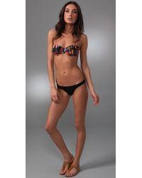 Zimmermann | Multicolor Ebony Rose Underwire Bikini | Lyst