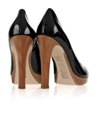 Kors by Michael Kors Black Julian Patent-leather Pumps