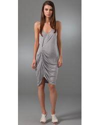 Thakoon | Gray Addition Twist Front Tank Dress | Lyst