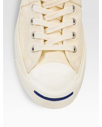 Converse - Jack Purcell Johnny Mid-top Sneakers/natural for Men - Lyst