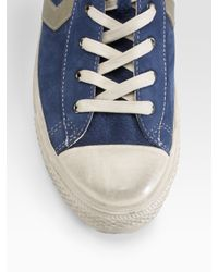 Converse | John Varvatos Star Player Mid-top Sneakers/blue for Men | Lyst
