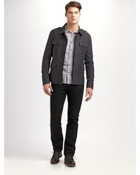 Converse | Gray Fine-wale Military Jacket for Men | Lyst