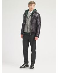 Dolce & Gabbana | Black Nylon Jacket for Men | Lyst
