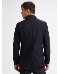 Elie Tahari | Blue Four-pocket Jacket for Men | Lyst