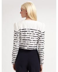 ESCADA - White Dorret Crayola Stripe Dress - Lyst