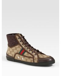 Gucci | Brown Sneaker for Men | Lyst