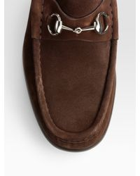 Gucci - Brown Loafer for Men - Lyst