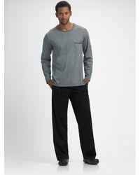 Hanro | Black Long-sleeve Pajamas for Men | Lyst