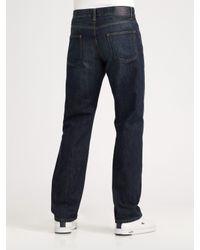 Lacoste - Blue Micro-check Poplin Shirt for Men - Lyst